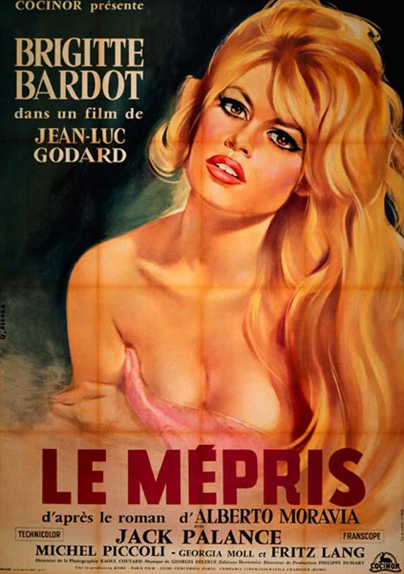 Le Mepris - Jean-Luc Godard